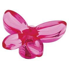 Threshold 4-Pack Acrylic Butterfly Knob - Hot Pink
