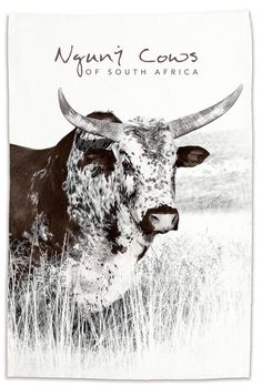 These beautiful tea-towels are the perfect addition to any collection. Proudly South African, they showcase the natural beauty of South Africa's indigenous Nguni cattle, bringing a little local flair to tea-time. South African Homes, Duo Tone, African Home Decor, Cattle, Tea Towels, Moose Art, Delivery, Classic, Shop