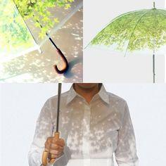 木陰を持ち歩ける?癒し効果抜群の日傘が素敵 | ガジェット通信