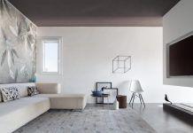 Simple and stylish minimalist apartment designed by Studio Tenca & Associati in Milan
