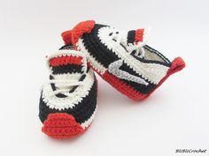 Zapatos de bebé del ganchillo crochet botitas de por BUBUCrochet