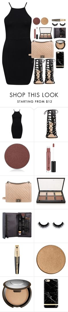 """18!"" by tilda-norrlin ❤ liked on Polyvore featuring NLY Trend, Gianvito Rossi, Anastasia Beverly Hills, Chanel, Kevyn Aucoin, L'Oréal Paris and Becca"