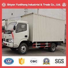 d9d7532d2c Dongfeng 4x2 3T Cargo Van Truck Sale  Carry Container Truck  Small Box  Trucks For