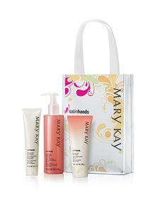 Product of the Day: Satin Hands.  Let me tell you, this pampering set is amazing, especially during the harsh winter months! With one use, I could tell a huge difference in my hands! The set comes in fragrance free, in peach or the NEW pomegranate, which is pictured! Each set includes a 3-step process that begins with the hand softener which hydrates and locks in moisture, a scrub which cleanses and exfoliates, and a cream that moisturizes for up to 24 hours!