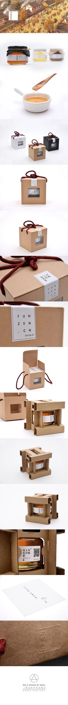 Fun Zen. Traditional honey. #Packaging #Design #Honey