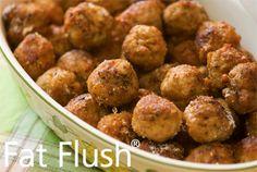 Coconutty Meatballs- Official Fat Flush Recipe