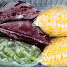 Freezing Vegetables From Your Garden - Organic Gardening - MOTHER EARTH NEWS