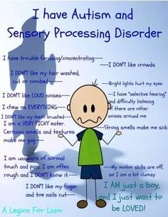 Sensory Processing Disorder and Autism - The Sensory Spectrum