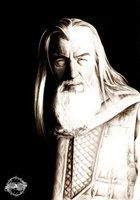 Gandalf the White by adorindil