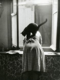 Les chats © Willy RONIS Willy Ronis (French: [wili ʁɔnis]; August 14, 1910 – September 12, 2009[1]) was a French photographer. His best-known work shows life in post-war Paris and Provence.