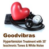 Treatment for Hypertension With 35' Isochronic Tones & White Noise mp3 audio