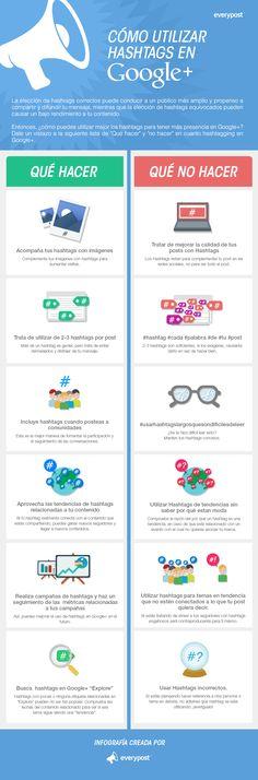 Que hacer y que no con los Hashtag en Google +