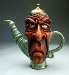 Love this expression--what I look like before my first cup of tea! #CondaDouglas