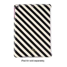 Kate Spade Case for IPad Air Designed for Apple iPad Air, this kate spade new york snap-on case is made from polycarbonate material for durable protection against on-the-go damage. The slim, lightweight design enables easy transport.Product Dimensions: 12 x 7.9 x 0.9 inches; kate spade Accessories Tablet Cases