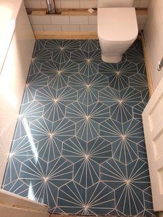 Encaustic floor tiles in a 3 tile repeat pattern Tiling, Repeating Patterns, Tile Floor, Flooring, Texture, Surface Finish, Tile Flooring, Wood Flooring, Floor