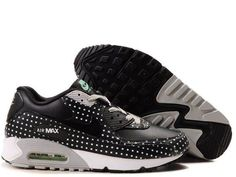 best service 78330 e88f9 Womens Black Black Azure Neutral Grey Nike Air Max 90 Premium Shoes  Discount  Wholesale for