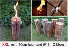 Geschenkidee 80cm Schwedenfeuer XXL Schwedenfeuer Fackel Baumfackel Dekoration in Möbel & Wohnen, Feste & Besondere Anlässe, Party- & Eventdekoration | eBay
