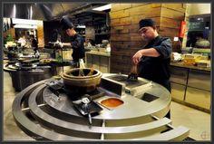 284 Best Open Kitchens Images Restaurant Design Open