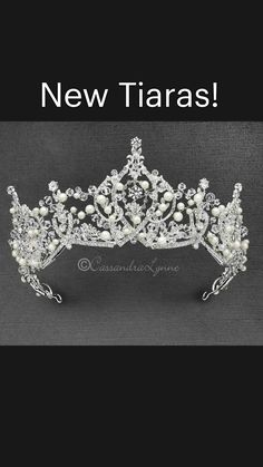 Eyebrow Design, Wedding Tiaras, Laurel Leaves, Veil Hairstyles, Bridal Tiara, Silver Flowers, Bridal Accessories, Royalty, Fashion Jewelry