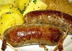 Jeden z klasických receptů na výrobu domácí jitrnice. Slovak Recipes, Czech Recipes, Do It Yourself Food, Pork Dishes, Food 52, Family Meals, Poultry, Sausage, Food And Drink