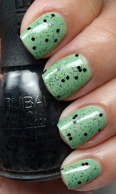 Essie - Navigate Her, Nubar - Black Polka Dot