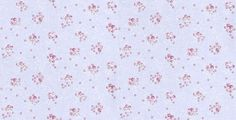 All Over Nina (LLR2119 61 31) - Casadeco Wallpapers - A pretty and delicate design with clusters of pink roses on a pale blue background. Please request a sample for true colour match.