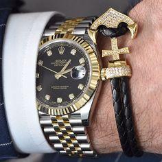 @infinitybraceletuk x two tone Rolex Datejust | http://ift.tt/2cBdL3X shares Rolex Watches collection #Get #men #rolex #watches #fashion