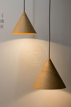 Brand new pendant products shown at the Slovak exhibition. WoodLED SAPITO is a minimalist hanging lamp in form of hat or cap. The whole lamp is made of more wooden slices bended glued together, with precise finishing at the end. Pendant Lamp, Pendant Lighting, Wooden Slices, Wooden Lamp, Architecture Design, Table Lamp, Ceiling Lights, Shapes, Contemporary