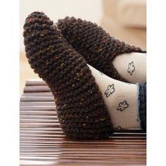 Beginner Women's Slippers Knit Pattern