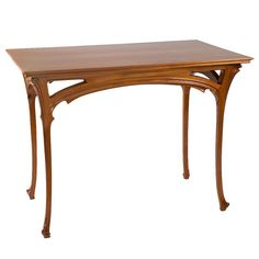 french art nouveau furniture | Henri Sauvage French Art Nouveau Table For Sale at 1stdibs