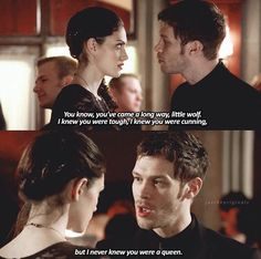 The Originals 1x18 Hayley & Klaus