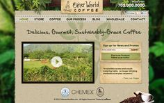 Other World Coffee's site created by Adlava. Great coffee too! http://adlava.com