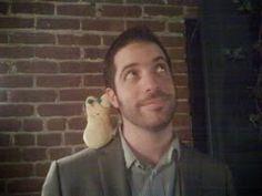 Steve Malk of my favorite agency, Writers House ! (with Lisa Yee' s Peep)…