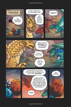 Wings of fire book graphic novel