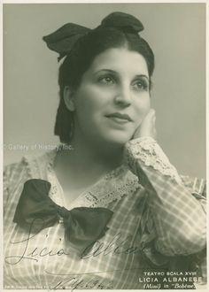 Licia Albanese. 1941 Opera Singers, Female Singers, White Ink, Ciel, Divas, Legends, Photograph, Portraits, Music