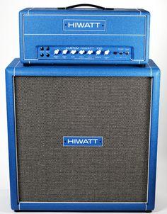 hiwatt custom 100 - blue blue blue