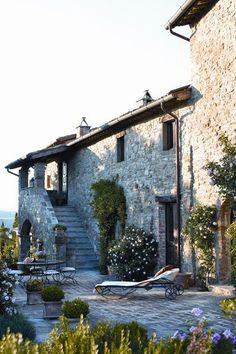 Italian life #Tuscan #Home #Design - Find More Decor Ideas at:  http://www.IrvineHomeBlog.com/HomeDecor/  ༺༺  ℭƘ ༻༻  and Pinterest Boards   - Christina Khandan - Irvine California