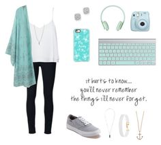 """""""Super simple"""" by fashionprincess255 ❤ liked on Polyvore featuring Frame Denim, Alice + Olivia, Bloomingdale's, Casetify, Fujifilm, Love Quotes Scarves, Vans, Luv Aj, Isabel Marant and Vanessa Mooney"""