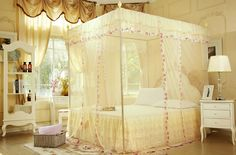 how to choose a bedroom color luxury mosquito net bed home canopy bed net 6 door curtain 20557