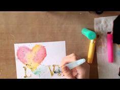 Watercolor Gelatos plus Video with Rachel Kleinman - Faber-Castell Design Memory Craft