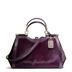 The Madison Carrie In Mixed Haircalf from Coach