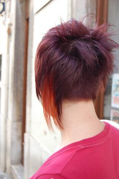 cute undercut. everyone had this in italy, even older ladies