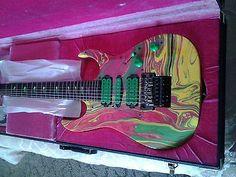 Ibanez Steve Vai Uv7 Electric Guitar - http://www.7stringguitar.org/for-sale/ibanez-steve-vai-uv7-electric-guitar/24688/