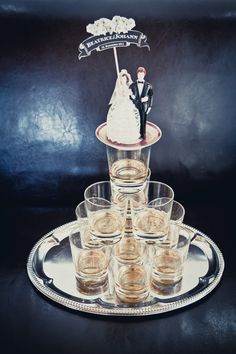 I could so be tempted by a whisky wedding cake...