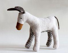 softie  little donkey milky by matildebeldroega on Etsy - How cuuuuuute!
