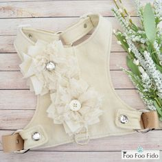 Items similar to Custom, Dog Harness, Create Your Own, Adjustable Choke Free, Ivory Linen Fabric Small Dog Vest on Etsy – Famous Last Words Yorkie Dogs, Puppies, Dog Clothes Patterns, Dress Patterns, Sewing Patterns, Dog Vest, Pet Clothes, Dog Clothing, Dog Dresses