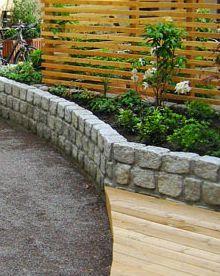 Granit storgatstens fogad (till låga murar)