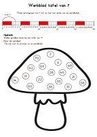 1000 images about rekenen tafels on pinterest om van