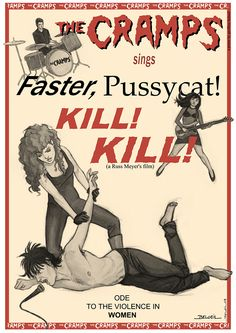 If you want wild live and fast... Another illustration by Geoffrey Beloeil. The Cramps are one of his favourite bands. S.