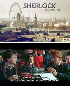 #SherlockLives Basically... Ugh just watched season 3 of Sherlock , so good so painful!